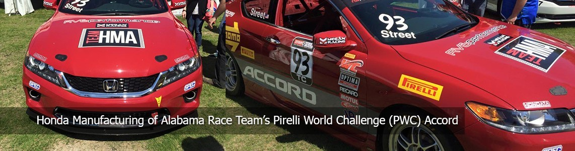Honda Manufacturing of Alabama Race Team's PWC Accord